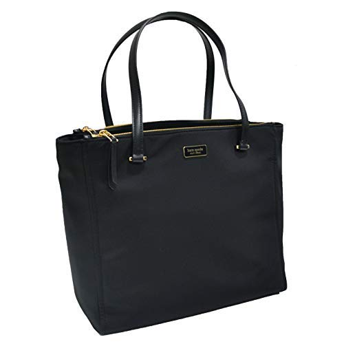 Kate Spade New York Tote Dawn Nylon Purse (Black)