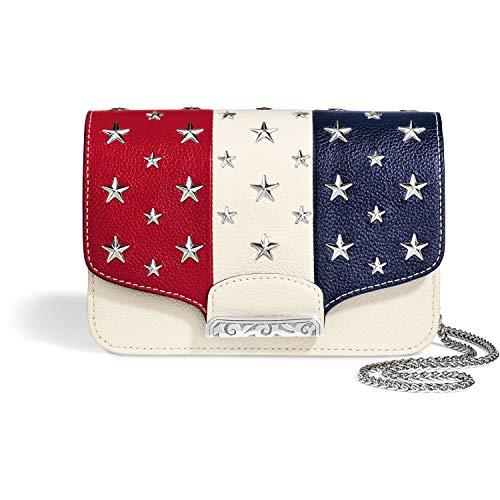 Brighton Star Studded White Ginger Snappy Minibag Gift Set