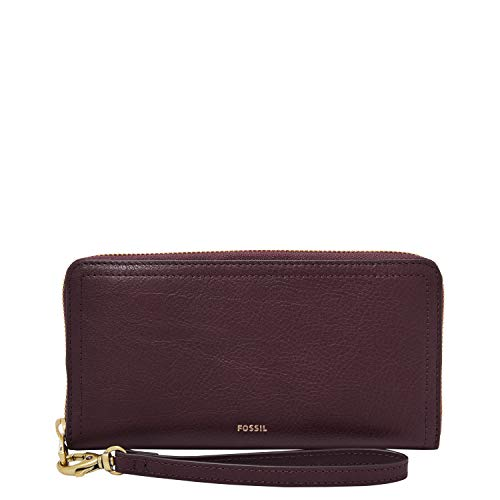 Fossil RFID Logan Zip Fig