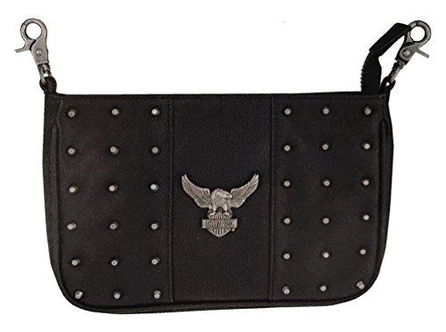Harley-Davidson Women's Nothing But Trouble Hip Bag w/Strap HDWBA11144-BLK