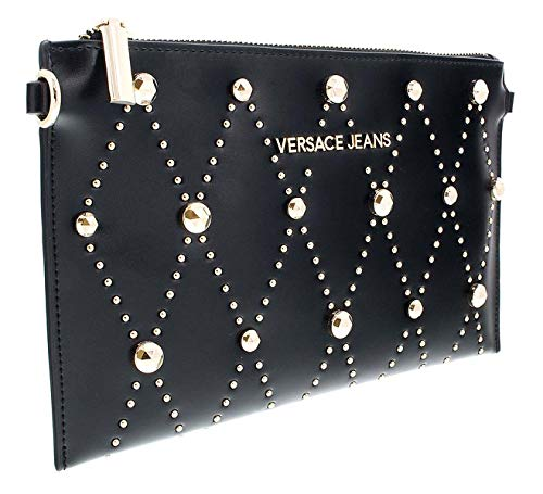 Versace EE3VSBPE8 E899 Black Clutch for Womens