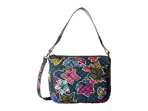 Vera Bradley Women's Carson Shoulder Bag Falling Flowers Handbag