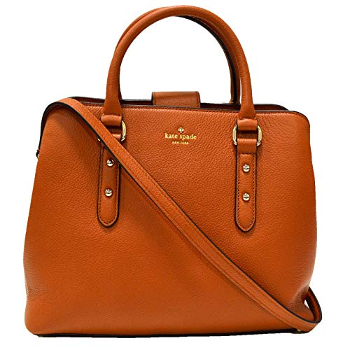 Kate Spade New York Evangelie Larchmont Avenue Purse (Warm Cognac)