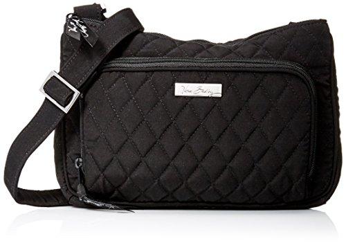 Vera Bradley Little Hipster Crossbody Shoulder Bag Purse in Classic Black