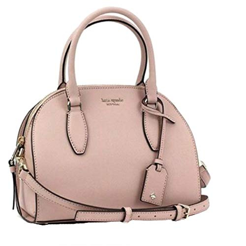 Kate Spade NY Medium Dome Leather Crossbody Satchel – Pink