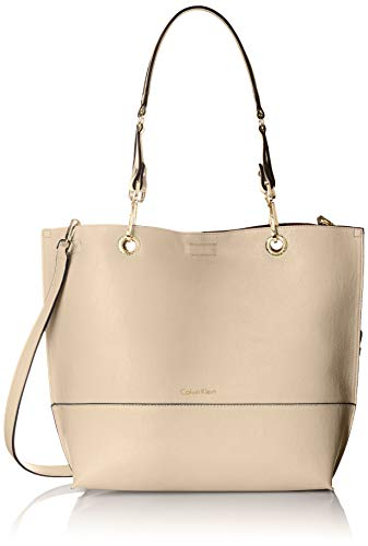 Calvin Klein Sonoma Reversible Novelty North/South Tote Bag, Sand