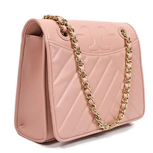 Tory Burch Alexa Shoulder Bag Crossbody Leather Chain