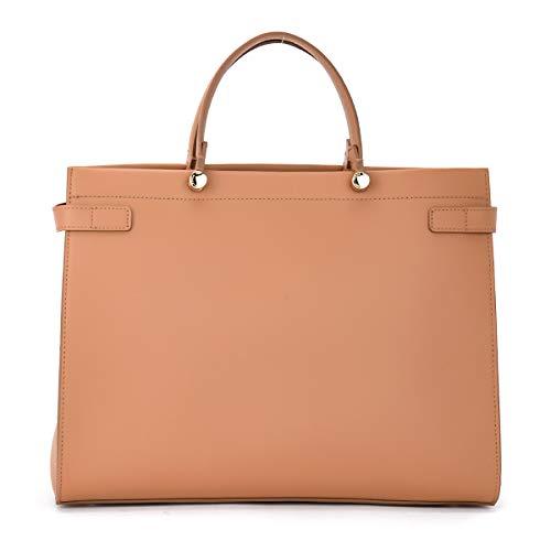 Furla Furla Handbag Model Lady M Caramel Color Brown