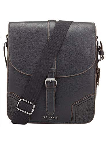 Ted Baker Jamtons Contrast Corner Leather Flight Bag