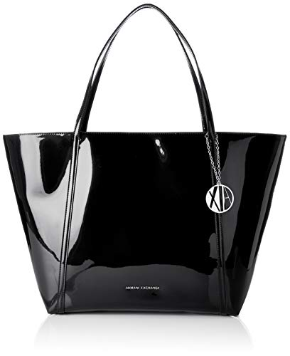 A|X Armani Exchange Medium Shoulder Bag, Nero-Black 220