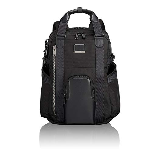 TUMI – Alpha Bravo Kings Laptop Backpack Tote – Convertible 15 Inch Computer Bag for Men and Women – Black
