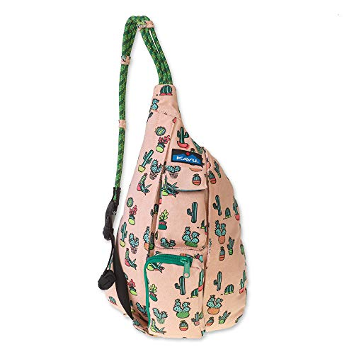 KAVU Women's Mini Rope Bag, Prickle Perfect, No Size
