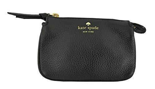 Kate Spade New York Mini Natasha Larchmont Avenue Coin Purse Leather Black