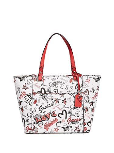 GUESS Factory Rigden Large Printed Tote