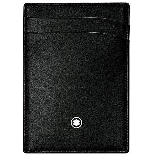 Montblanc Credit Card Case, BLACK (Black) – 107346