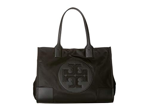 Tory Burch Ella Mini Tote- Black