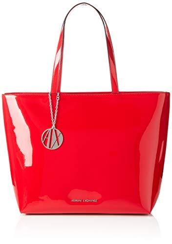 A|X Armani Exchange Zip Top Shoulder Bag, Rosso-red 24