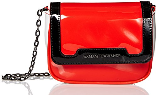 A X Armani Exchange Small Patent Crossbody Bag, 56720