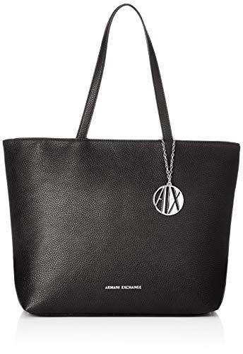 A|X Armani Exchange Zip Top Shoulder Bag, Nero-Black 54