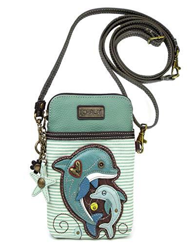 Chala Handbags Dolphin Cellphone Crossbody Handbag – Dolphin Lover Collector