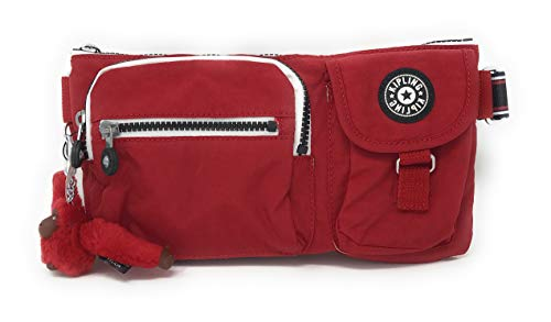 Kipling Sabian Crossbody Mini Bag (One Size, Cherry Varsity Strap)