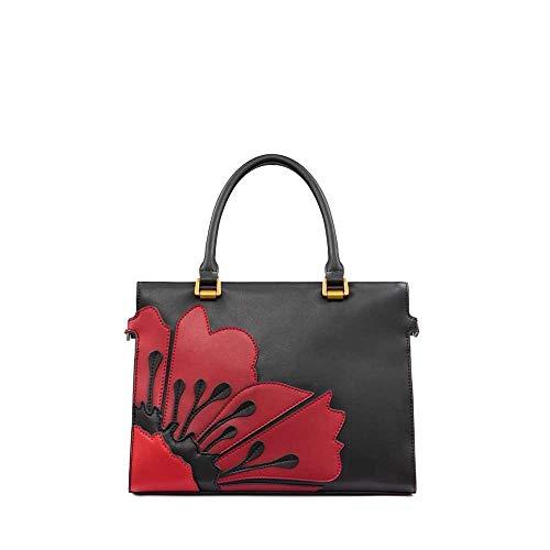 TOSCA BLU Bag CECILIA Female Leather Black-red – TF19PB312-78R