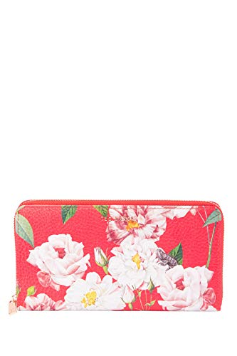 Ted Baker London Mid Red Jete Iguazu Zip Leather Matinee Wallet