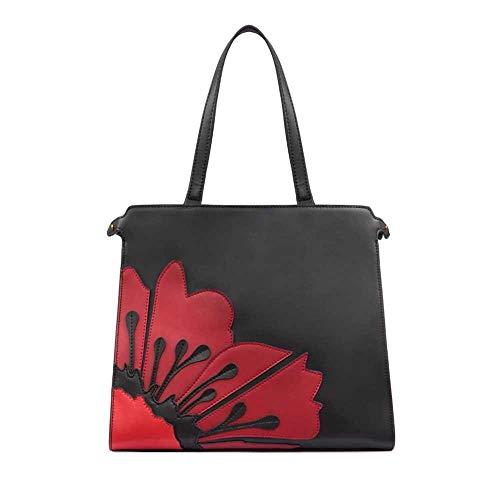 TOSCA BLU Bag CECILIA Female Leather Black-Red – TF19PB311-78R