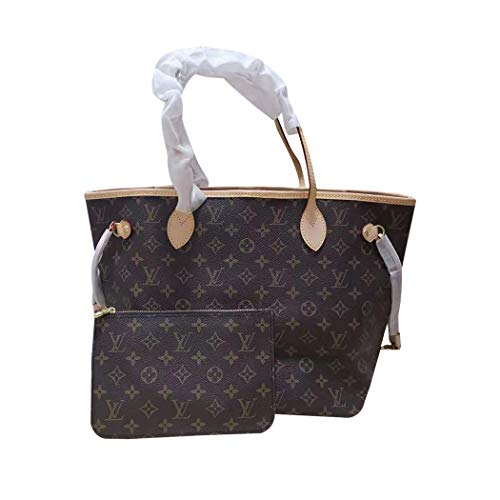 Womens NEVERFULL MM Handbag Shoulder Bag M41177 Monogram Canvas