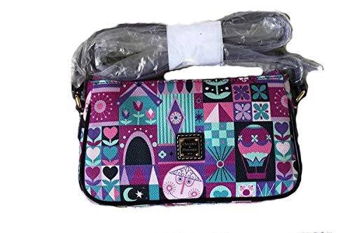 Disney It's A Small World Crossbody Pouchette by Dooney & Bourke New