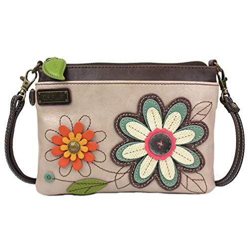 Chala Handbags Daisy Mini Crossbody Handbag – Convertible Straps