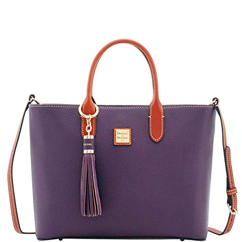 Dooney & Bourke Pebble Grain E W Waverly Tote Sammi Tassel