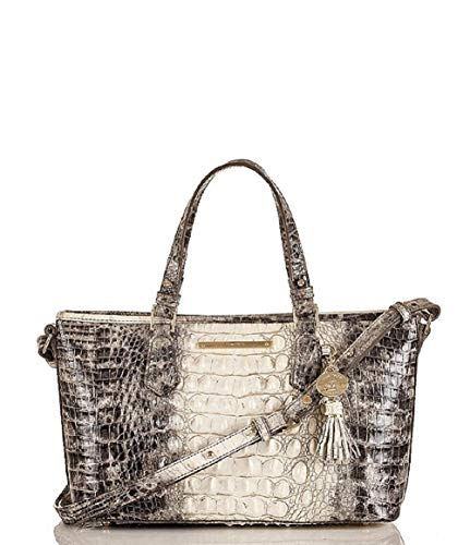 Brahmin Women's Melbourne Collection Mini Asher Crocodile-Embossed Tote