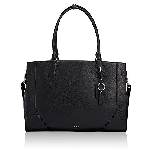 TUMI – Stanton Rosalind Leather Laptop Tote – 15 Inch Computer Bag for Women – Black