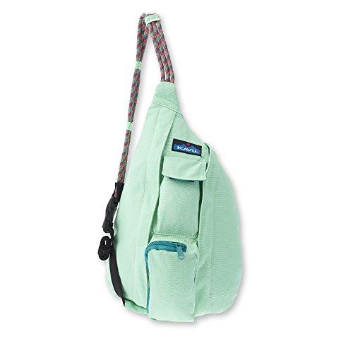 KAVU Mini Rope Bag, Seafoam, One Size