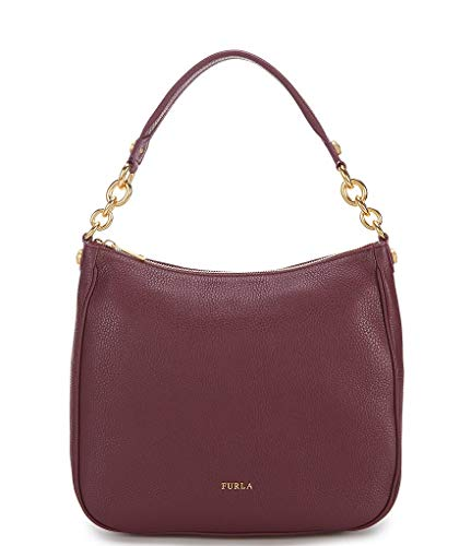 Furla Women's Cometa Medium Hobo Bag Ciliegia