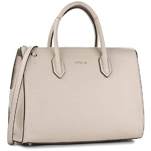 Furla Women's Pin Large Vaniglia Tote Handbag