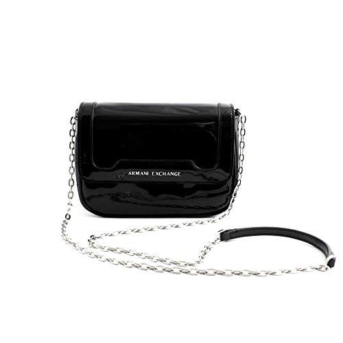 A|X Armani Exchange Women's Big Crossbody Bag, nero – black 185