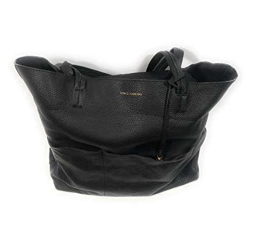 Vince Camuto Leather Tote black Bag