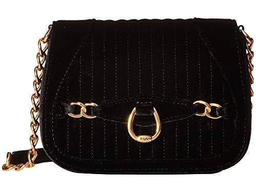 LAUREN Ralph Lauren Stonegate Crossbody (Black) Cross Body Handbags