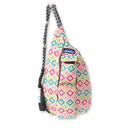 KAVU Mini Rope Bag, Spring Montage, One Size