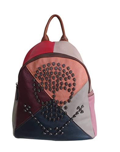 Amerileather Joreah Leather Backpack (#1941-9)