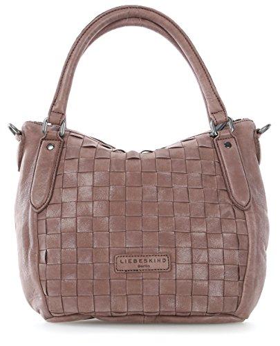 Liebeskind Berlin Gina Silky Leather Satchel Crossbody Bag (Cognac)