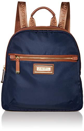 Calvin Klein Belfast Nylon Key Item Backpack, Navy