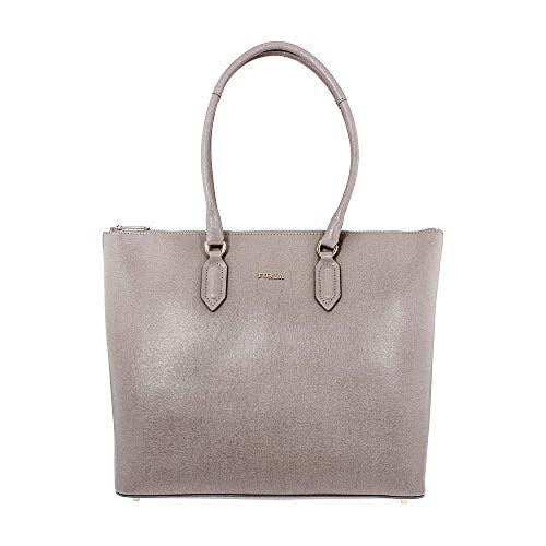 Furla Pin Ladies Medium Beige Sabbia Leather Tote 978771