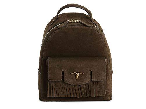 Polo Ralph Lauren Steer-Head Leather Backpack