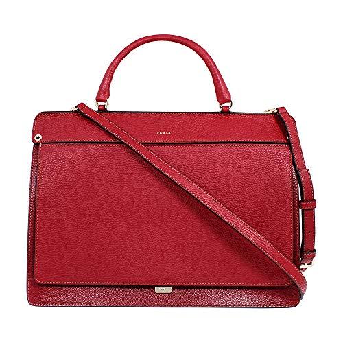 Furla Like Ladies Medium Red Ciliegia Leather Shoulder Bag 997365