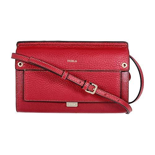 Furla Like Ladies Mini Red Ciliegia Leather Crossbody 920280