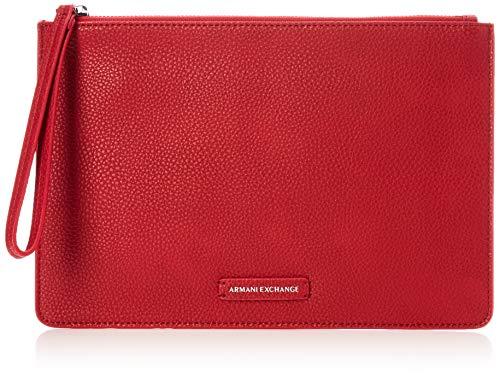 A|X Armani Exchange Big Pouch, Royal red 255