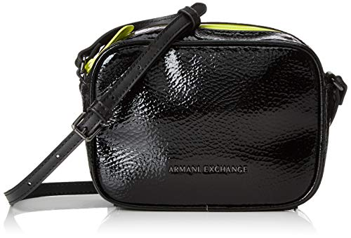 A X Armani Exchange Women's Small Crossbody Bag, nero – black 293